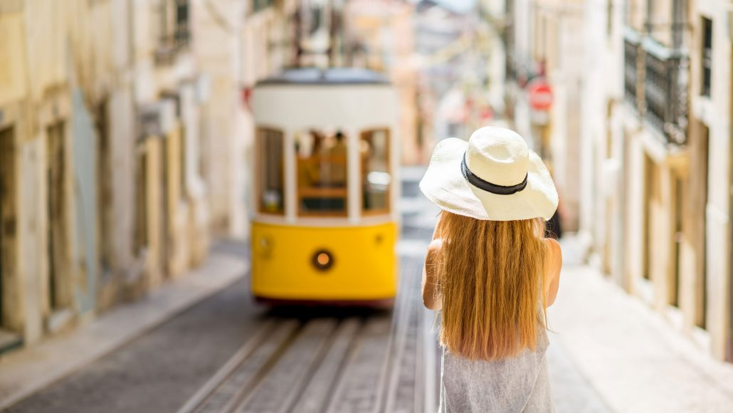 Yellow-Tram-Portugal