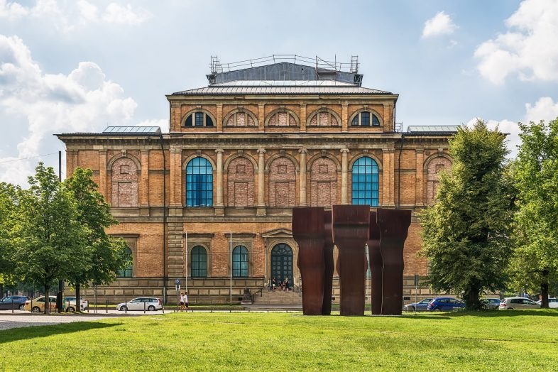 Building of Alte Pinakothek, Building of Alte Pinakothek