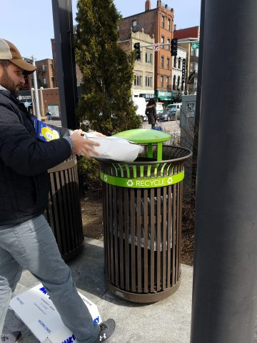 Recycling in Boston
