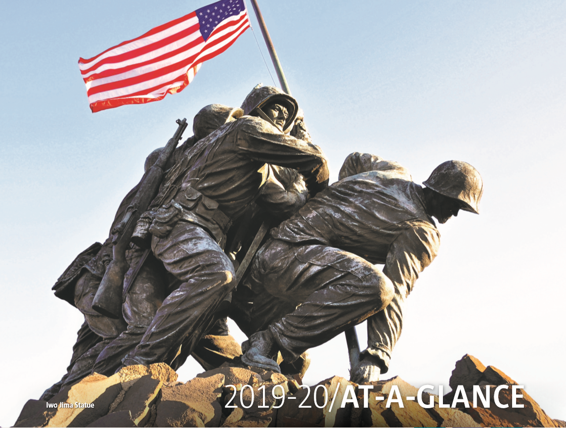 2019 At-A-Glance Tile Calendar: History