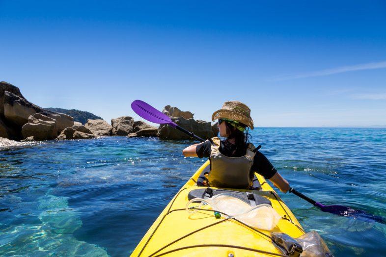 Kayak in New Zealand