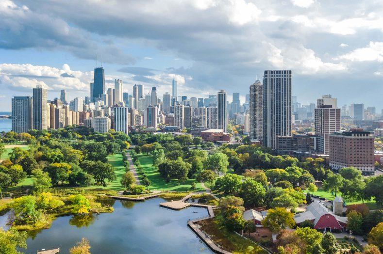 Aerial Chicago