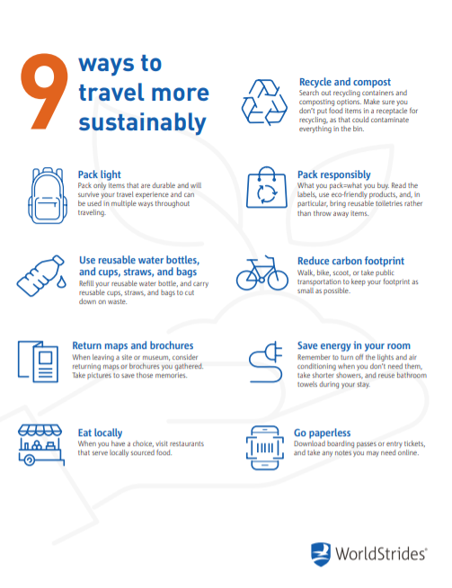 9 Ways Travel Sustainably