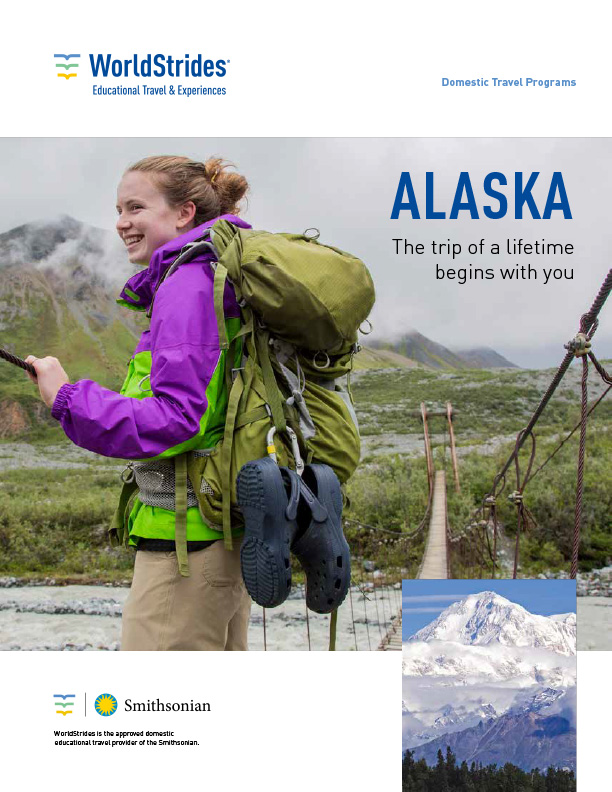 WorldStrides Alaska Travel Planner