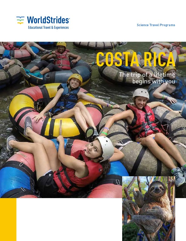 WorldStrides Costa Rica Travel Planner