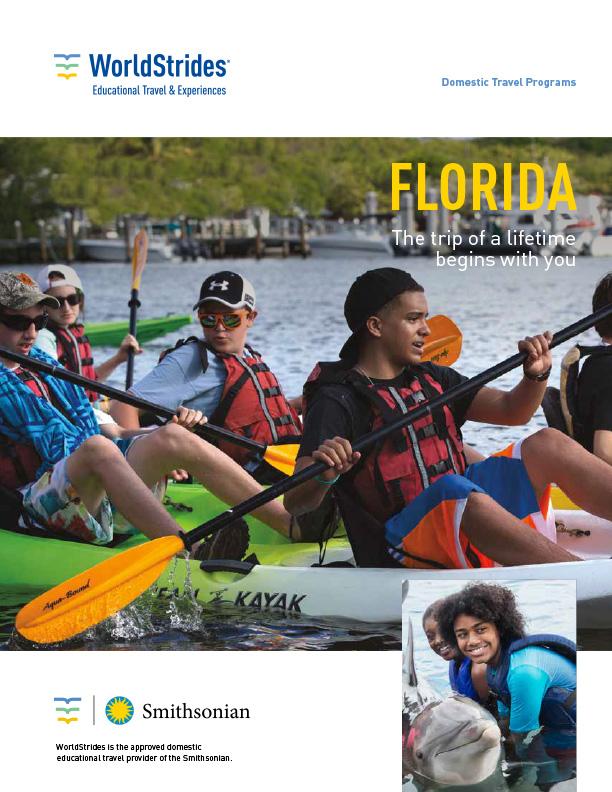 WorldStrides Florida Travel Planner