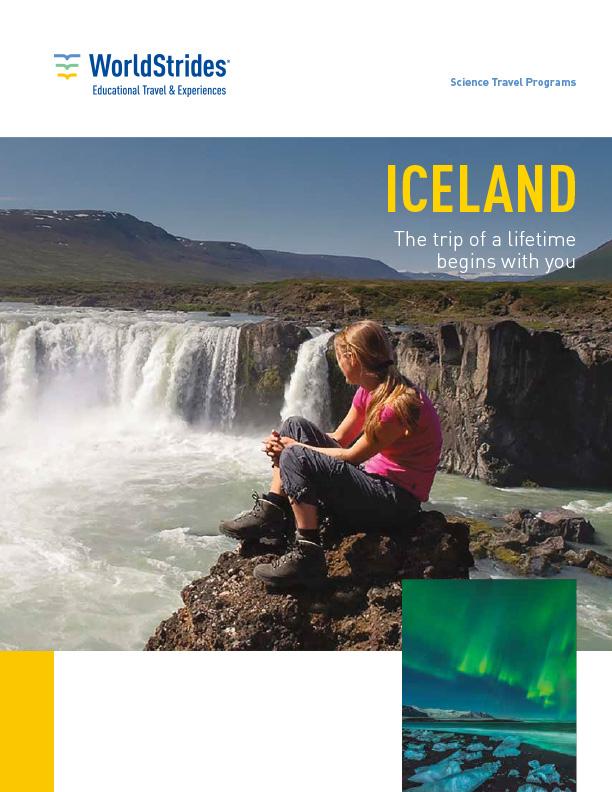 WorldStrides Iceland Travel Planner