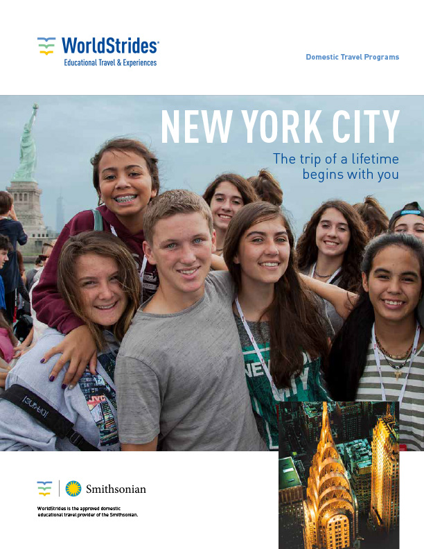 WorldStrides New York Travel Planner