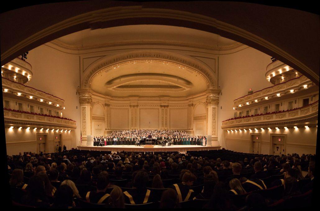 Carnegie hall stage