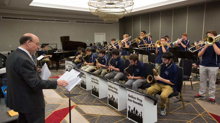 Jazz Band Performing Clinic Workshop Festival of Gold