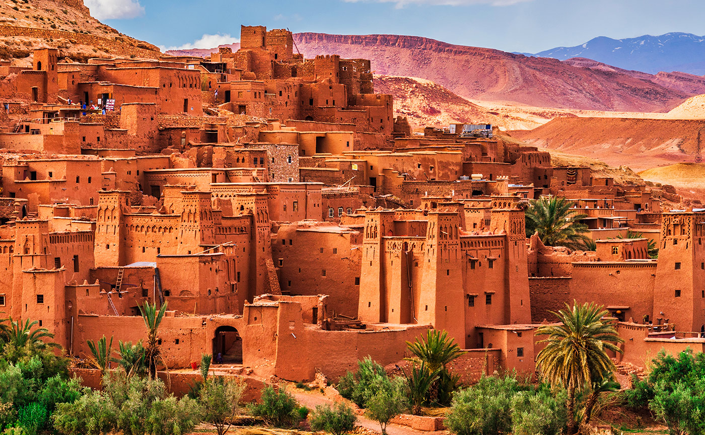 Ait Benhaddou Ancient city in Morocco North Africa