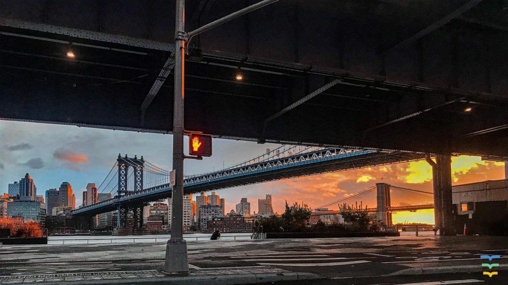Brooklyn Bridge Virtual Background