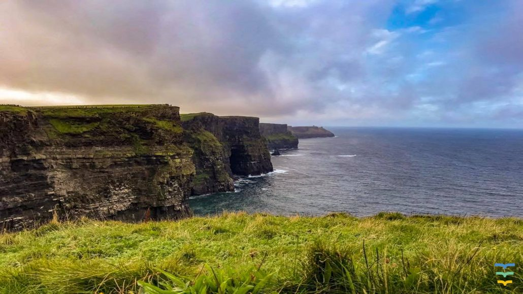 Ireland Cliffs of Moher Virtual Background