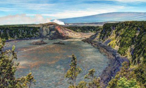 Kilauea Iki Crater Hike, Hawaii