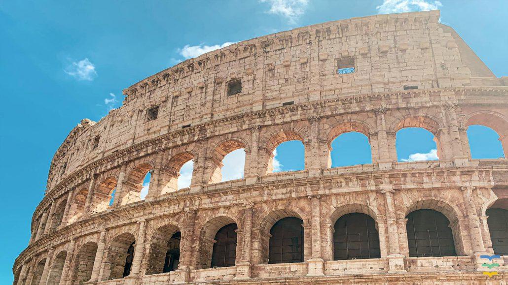 Rome, Colloseum Virtual Background