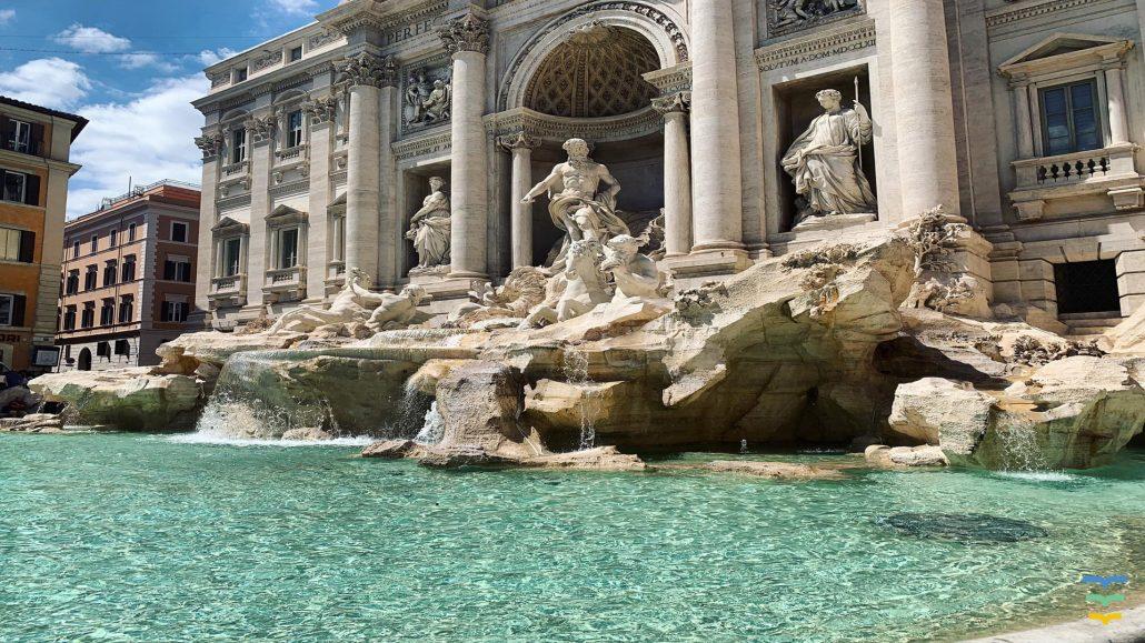 Trevi Fountain Virtual Background