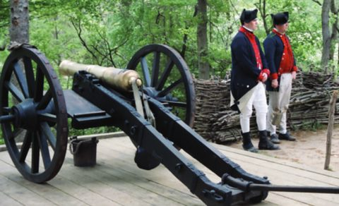Yorktown Battlefields, Virginia
