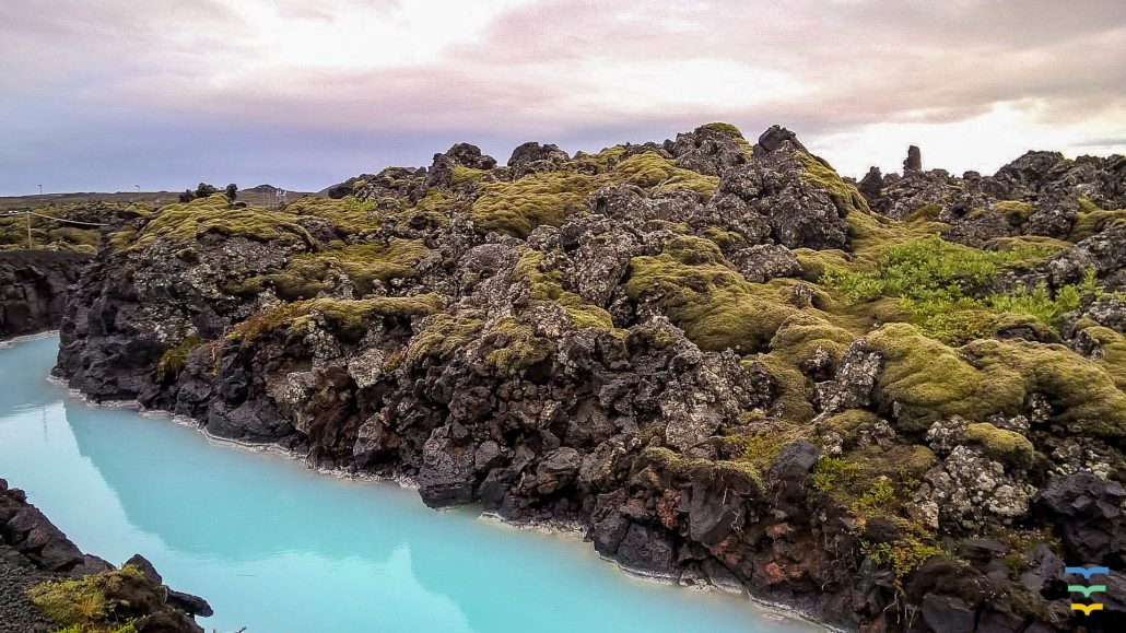 Iceland Blue Lagoon Virtual Background