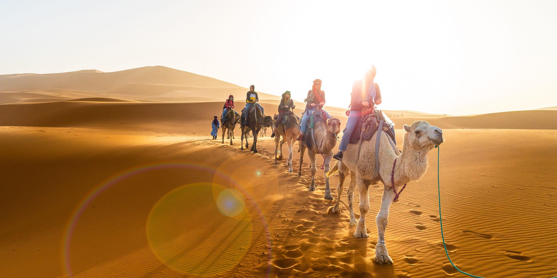 Morocco, Camel Ride