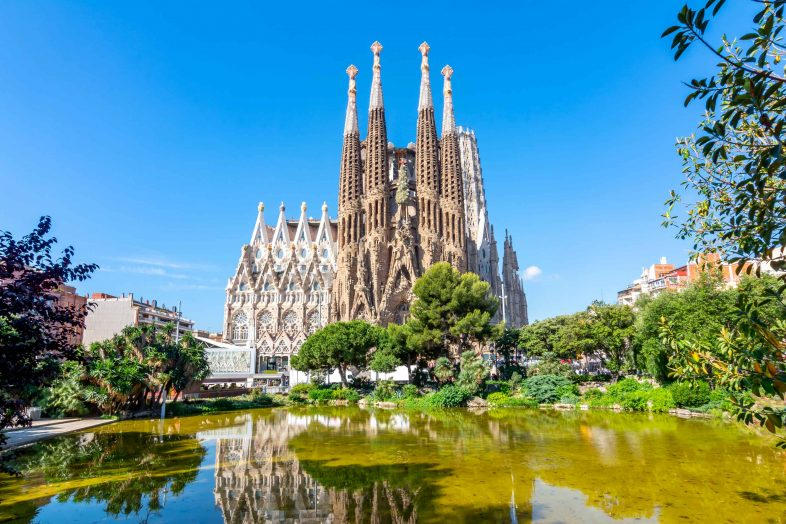 Sagra,da Família Cathedral, Spain