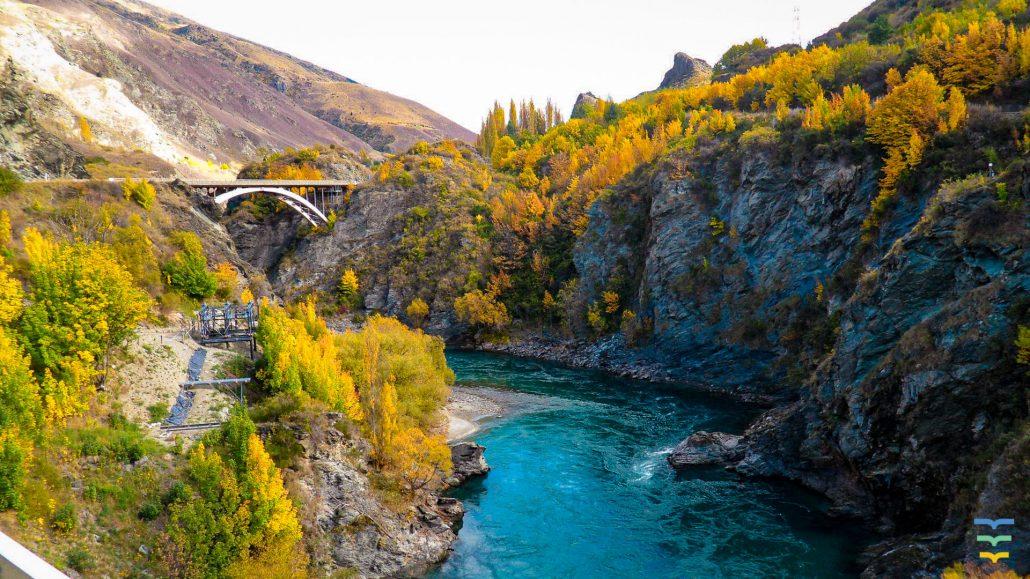 Kawarau River, Queenstown New Zealand Virtual Background