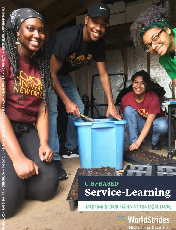 WorldStrides Domestic Service Learning Catalog