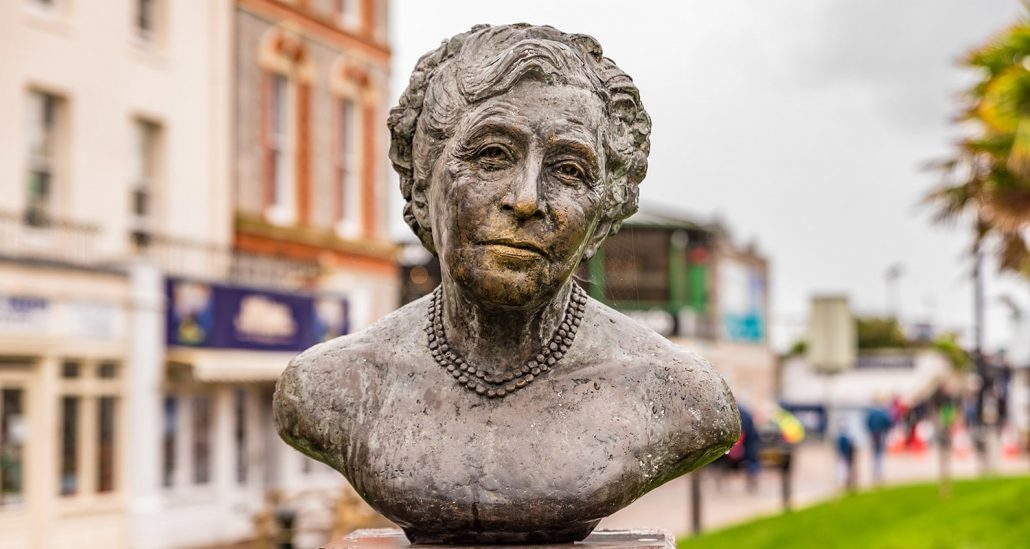 Statue of Agatha Christie